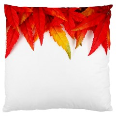 Abstract Autumn Background Bright Large Cushion Case (two Sides) by Nexatart