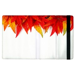 Abstract Autumn Background Bright Apple Ipad 3/4 Flip Case by Nexatart