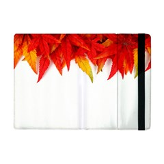 Abstract Autumn Background Bright Apple Ipad Mini Flip Case by Nexatart