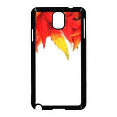 Abstract Autumn Background Bright Samsung Galaxy Note 3 Neo Hardshell Case (black)