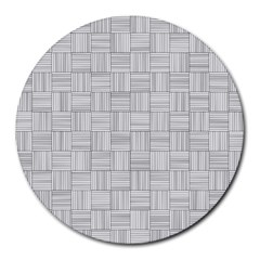 Flooring Household Pattern Round Mousepads by Nexatart