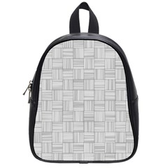 Flooring Household Pattern School Bags (small)  by Nexatart