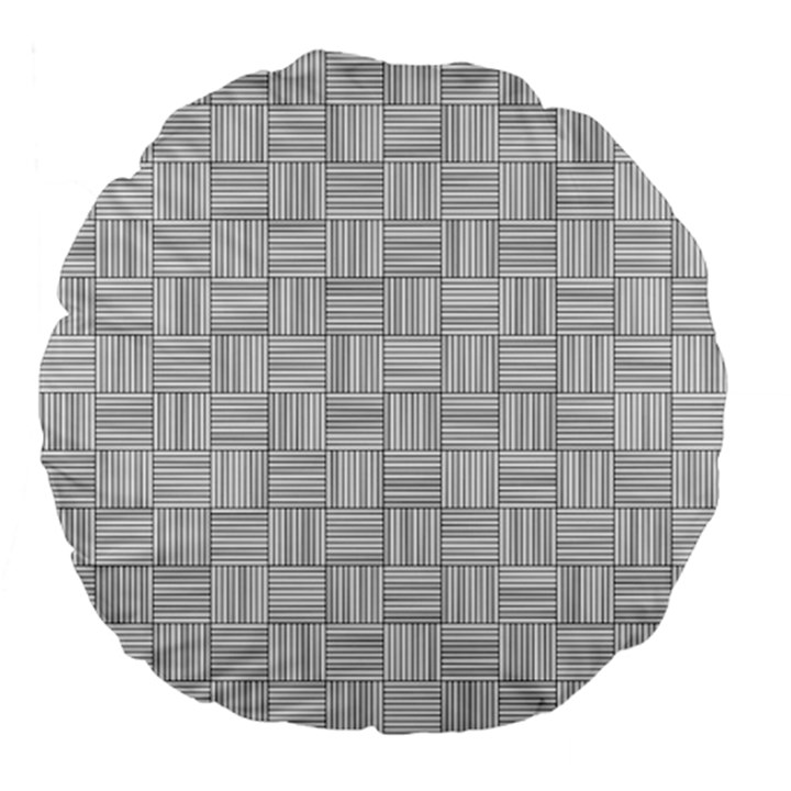 Flooring Household Pattern Large 18  Premium Flano Round Cushions