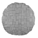 Flooring Household Pattern Large 18  Premium Flano Round Cushions Back