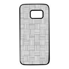 Flooring Household Pattern Samsung Galaxy S7 Black Seamless Case