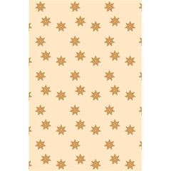 Pattern Gingerbread Star 5 5  X 8 5  Notebooks by Nexatart