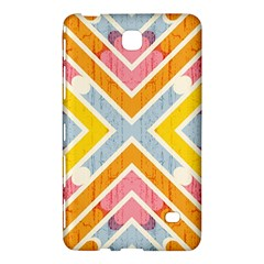 Line Pattern Cross Print Repeat Samsung Galaxy Tab 4 (8 ) Hardshell Case  by Nexatart