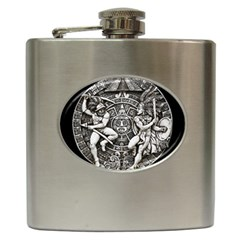 Pattern Motif Decor Hip Flask (6 Oz) by Nexatart