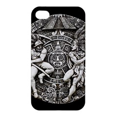 Pattern Motif Decor Apple Iphone 4/4s Hardshell Case by Nexatart