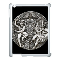 Pattern Motif Decor Apple Ipad 3/4 Case (white) by Nexatart