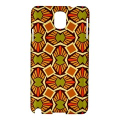 Geometry Shape Retro Trendy Symbol Samsung Galaxy Note 3 N9005 Hardshell Case by Nexatart