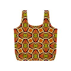 Geometry Shape Retro Trendy Symbol Full Print Recycle Bags (s)  by Nexatart