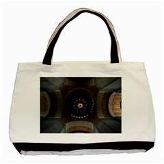 Pattern Design Symmetry Up Ceiling Basic Tote Bag (two Sides)