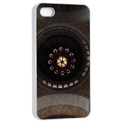 Pattern Design Symmetry Up Ceiling Apple Iphone 4/4s Seamless Case (white)
