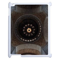 Pattern Design Symmetry Up Ceiling Apple Ipad 2 Case (white) by Nexatart