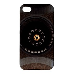 Pattern Design Symmetry Up Ceiling Apple Iphone 4/4s Hardshell Case by Nexatart