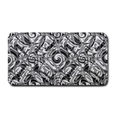 Gray Scale Pattern Tile Design Medium Bar Mats