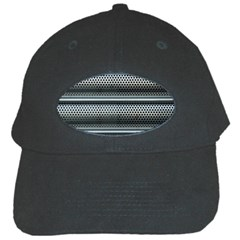 Sheet Holes Roller Shutter Black Cap