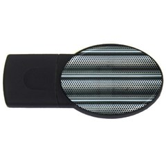 Sheet Holes Roller Shutter Usb Flash Drive Oval (4 Gb) by Nexatart