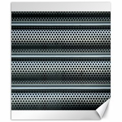 Sheet Holes Roller Shutter Canvas 20  X 24   by Nexatart