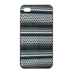 Sheet Holes Roller Shutter Apple Iphone 4/4s Seamless Case (black)