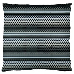 Sheet Holes Roller Shutter Large Flano Cushion Case (one Side) by Nexatart