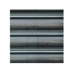 Sheet Holes Roller Shutter Small Satin Scarf (square)
