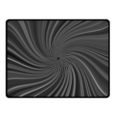 Abstract Art Color Design Lines Fleece Blanket (small)