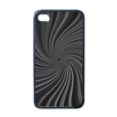 Abstract Art Color Design Lines Apple Iphone 4 Case (black) by Nexatart