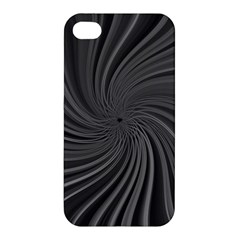 Abstract Art Color Design Lines Apple Iphone 4/4s Premium Hardshell Case by Nexatart