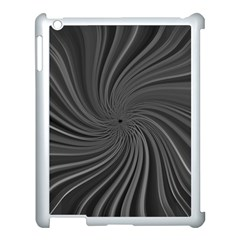 Abstract Art Color Design Lines Apple Ipad 3/4 Case (white) by Nexatart