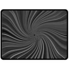Abstract Art Color Design Lines Double Sided Fleece Blanket (large)