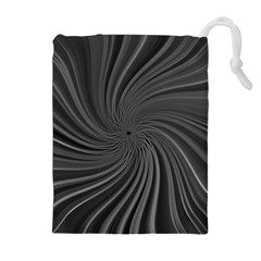 Abstract Art Color Design Lines Drawstring Pouches (extra Large) by Nexatart