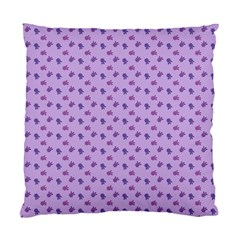 Pattern Background Violet Flowers Standard Cushion Case (two Sides)