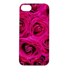 Pink Roses Roses Background Apple Iphone 5s/ Se Hardshell Case