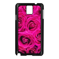 Pink Roses Roses Background Samsung Galaxy Note 3 N9005 Case (black) by Nexatart