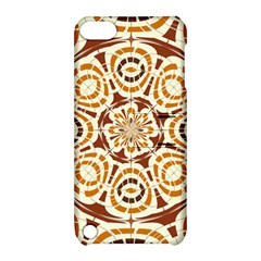 Brown And Tan Abstract Apple Ipod Touch 5 Hardshell Case With Stand by linceazul