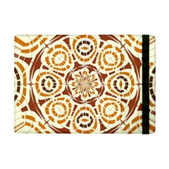 Brown And Tan Abstract Ipad Mini 2 Flip Cases by linceazul