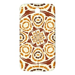 Brown And Tan Abstract Samsung Galaxy Mega I9200 Hardshell Back Case by linceazul