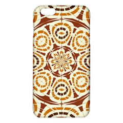 Brown And Tan Abstract Iphone 6 Plus/6s Plus Tpu Case by linceazul
