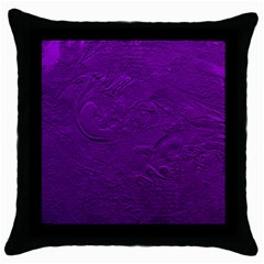 Texture Background Backgrounds Throw Pillow Case (black) by Nexatart