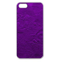 Texture Background Backgrounds Apple Seamless Iphone 5 Case (clear) by Nexatart