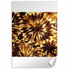 Mussels Lamp Star Pattern Canvas 12  X 18