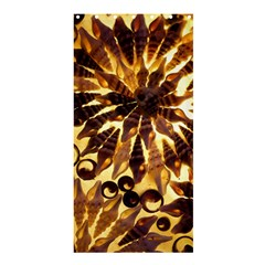 Mussels Lamp Star Pattern Shower Curtain 36  X 72  (stall)  by Nexatart