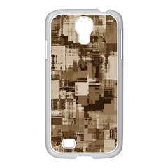 Color Abstract Background Textures Samsung Galaxy S4 I9500/ I9505 Case (white) by Nexatart