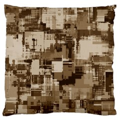 Color Abstract Background Textures Large Flano Cushion Case (one Side) by Nexatart