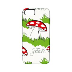 Mushroom Luck Fly Agaric Lucky Guy Apple Iphone 5 Classic Hardshell Case (pc+silicone) by Nexatart