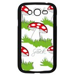 Mushroom Luck Fly Agaric Lucky Guy Samsung Galaxy Grand DUOS I9082 Case (Black) Front