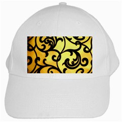 Texture Pattern Beautiful Bright White Cap by Nexatart