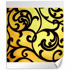 Texture Pattern Beautiful Bright Canvas 8  X 10  by Nexatart